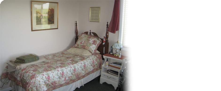 Picture of a typical tenant room